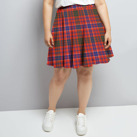 Macrae Ancient Tartan High Waist Skater Skirt HJ6