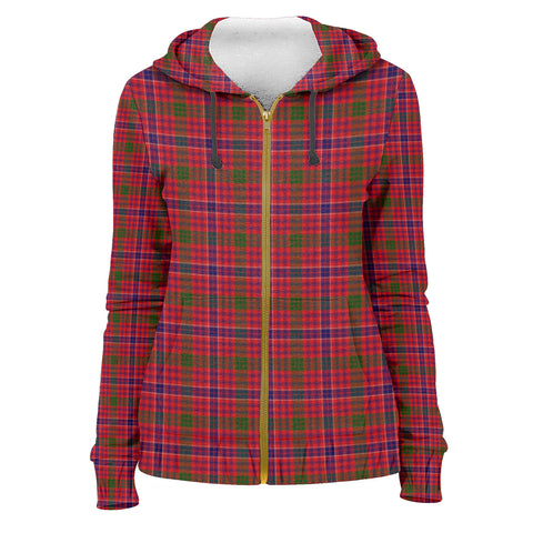 Tartan Zip Hoodie -MacRae Modern | Men & Women | Clothing
