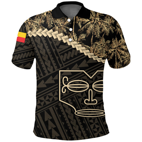 Marquesas Islands Polo Shirt Golden Coconut | Love The World