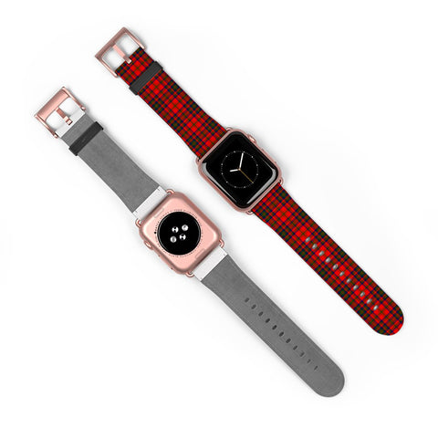 Matheson Modern Scottish Clan Tartan Watch Band Apple Watch