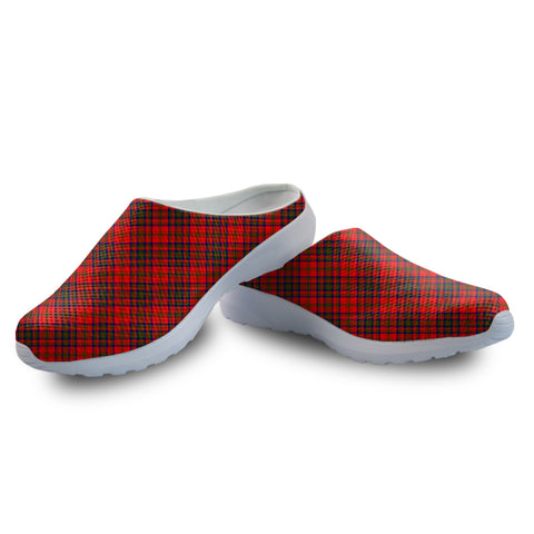 Matheson Modern Tartan Back Open Shoes | 1sttheworld.com