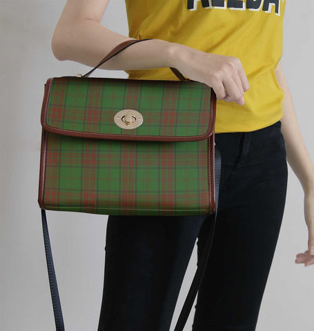 Maxwell Hunting Tartan Canvas Bag | Waterproof Bag | Scottish Bag