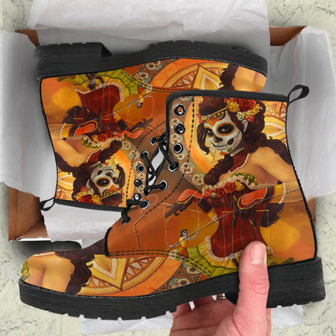 mexico boots, catrina boots, mexico leather boots, catrina leather boots