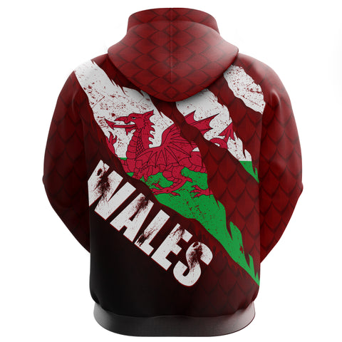 Image of Welsh Hoodie - Dragon Eyes | Clothing | Love The World