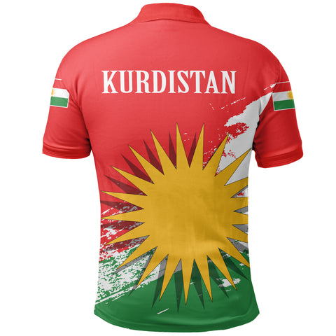 Image of Kurdistan Polo Shirt Special | Clothing | Love The World