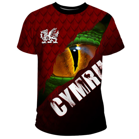 Welsh T-shirts - Dragon Eyes | Clothing | Love The World