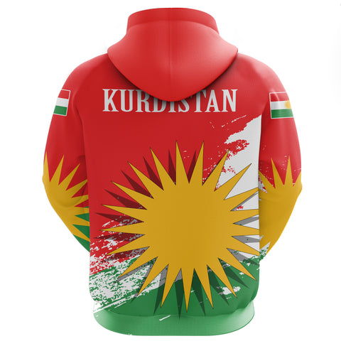 Image of Kurdistan Zip Hoodie Special | Clothing | Love The World