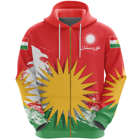 Kurdistan Zip Hoodie Special | Clothing | Love The World