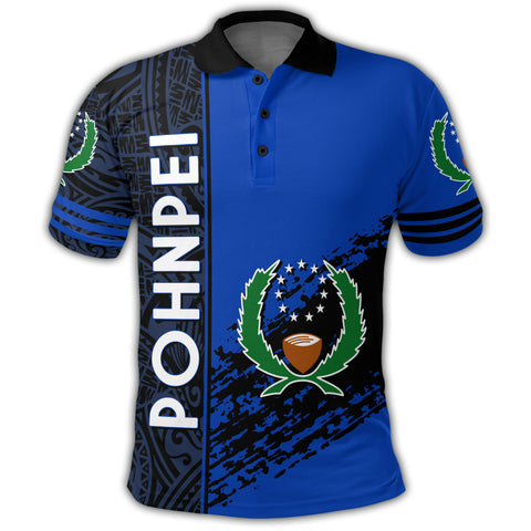 Pohnpei Coat Of Arms Polo