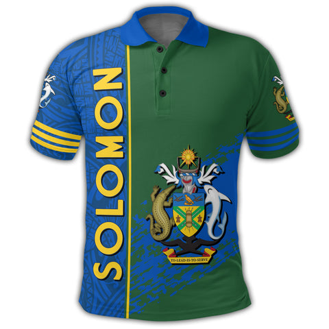 Image of Solomon Coat Of Arms Polo