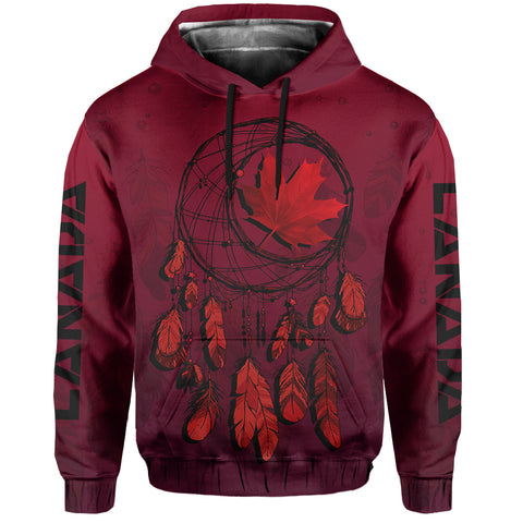 Canada Maple Leaf Dreamcatcher Pullover Hoodie | Clothing | Love the World