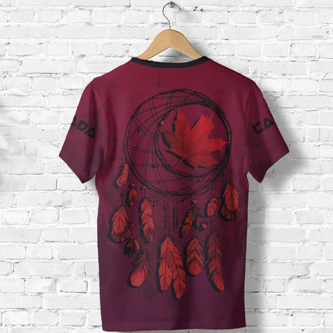 Canada Maple Leaf Dreamcatcher T-shirt | Clothing | 1sttheworld