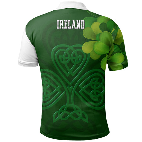 Image of Ireland Celtic Shamrock Special Polo Shirt | Special Custom Design