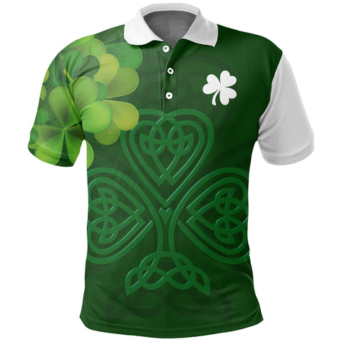 Ireland Celtic Shamrock Special Polo Shirt | Special Custom Design