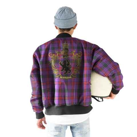 Image of Montgomery Tartan Bomber Jacket | Scottish Jacket | Scotland Clothing