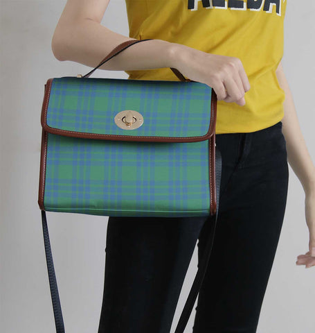 Image of Montgomery Ancient Tartan Canvas Bag | Waterproof Bag | Scottish Bag