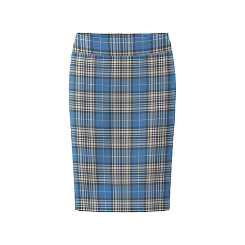 Image of Tartan Skirt - Napier Ancient Fitted Skirt A9 |Women's Clothing| 1sttheworld