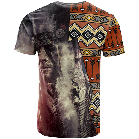 Image of Native American T-Shirt - Warrior Arrow Pattern - BN29