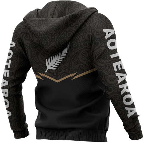 Image of New Zealand Maori Zipper Hoodie