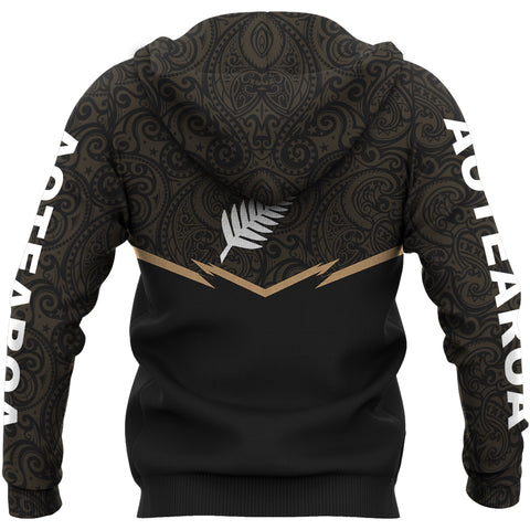 Image of New Zealand Zipper Hoodie