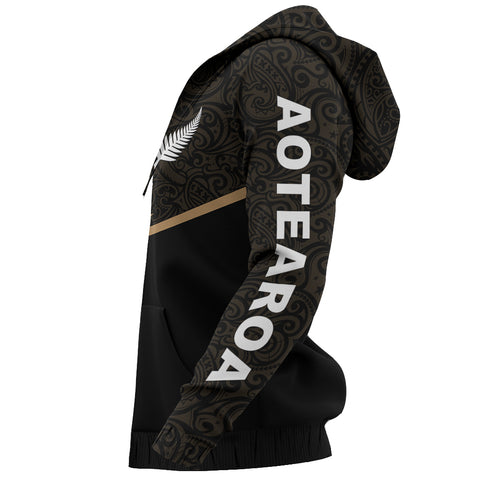 Image of New Zealand Maori Zipper Hoodie - Energy Style Ver 2.0 J1