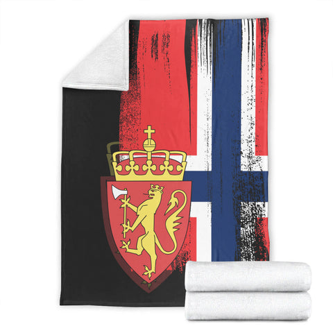 Norway Flag Coat Of Arms Face Mask - J6