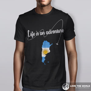 Argentina Life is An Adventure T-shirt, sale, sale off