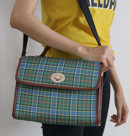 Tartan Bag - Ogilvie Hunting Ancient Canvas Handbag A9