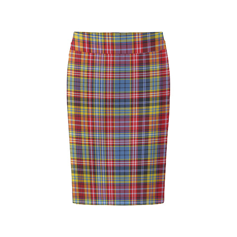 Tartan Skirt - Ogilvie Of Airlie Ancient Fitted Skirt A9 |Women's Clothing| 1sttheworld