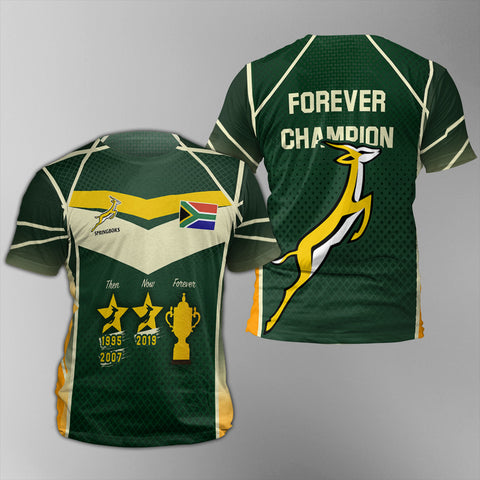 South Africa Springboks T-Shirt - Forever Champion TH7
