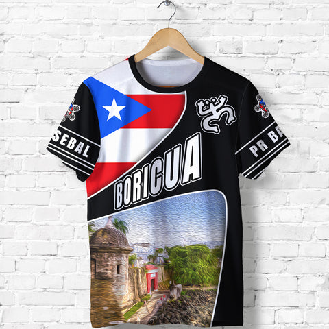 Image of Puerto Rico Shirts, PR Baseball T Shirt K5