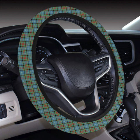 Image of Paisley District Tartan Universal Steering Wheel Cover A7