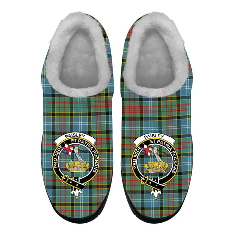 Image of Paisley District Crest Tartan Fleece Slipper (Women's/Men's) A7