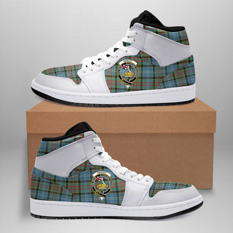 Image of Paisley District Clan Crest Tartan Jordan Sneaker (Women's/Men's) A7
