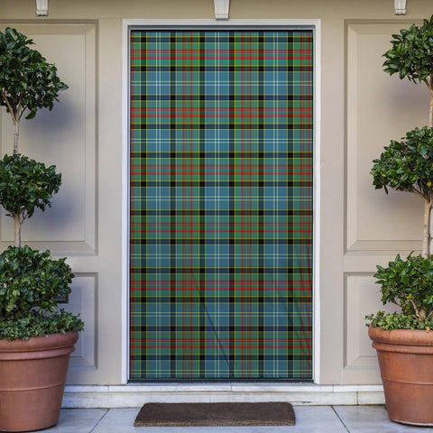 Paisley District Tartan Door Sock Cover