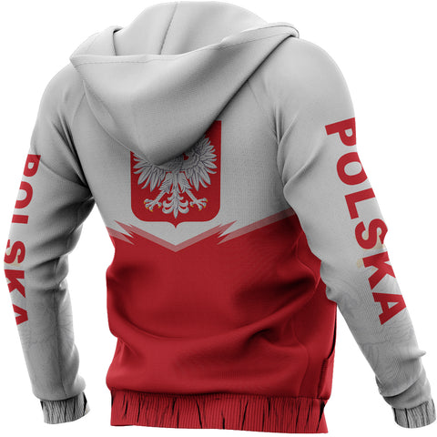 Image of Poland Zipper Hoodie