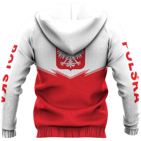 Image of Poland Zipper Hoodie - Energy Style Ver 2.0 J1
