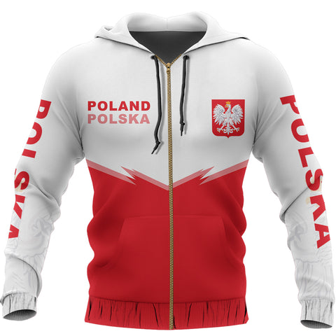 Image of Poland Zipper Hoodie - Energy Style Ver 2.0