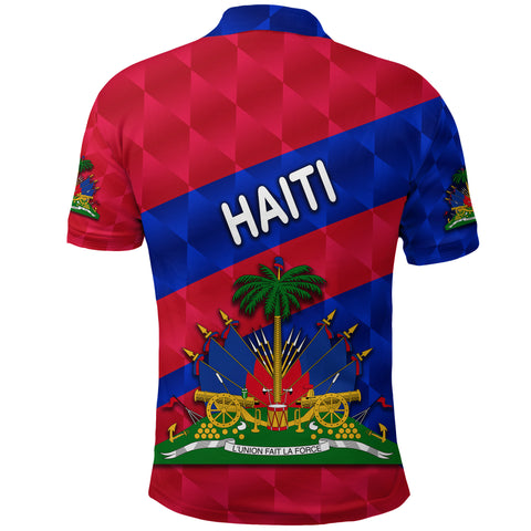 Haiti Polo Shirt Sporty Style K8