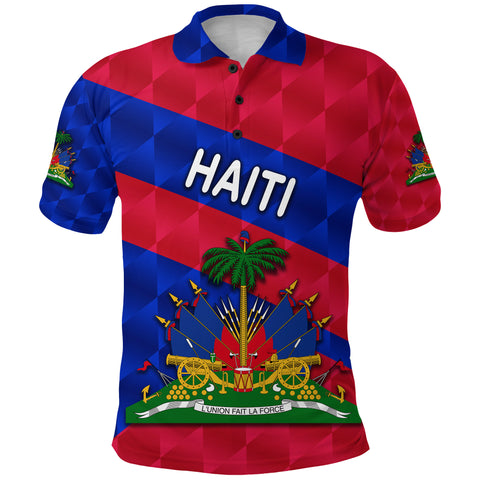1st The World Haiti Polo Shirt Sporty Style | Clothing | Love Haiti