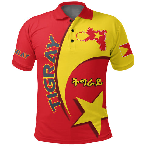 Image of 1stTheWorld Tigray Polo Shirt New Release A25