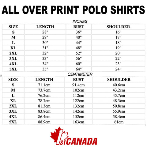 Image of 1stCanada Special Vintage Art Polo Shirt A7