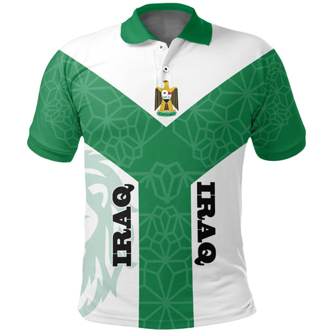 Image of Iraq Rising Polo Shirt A10