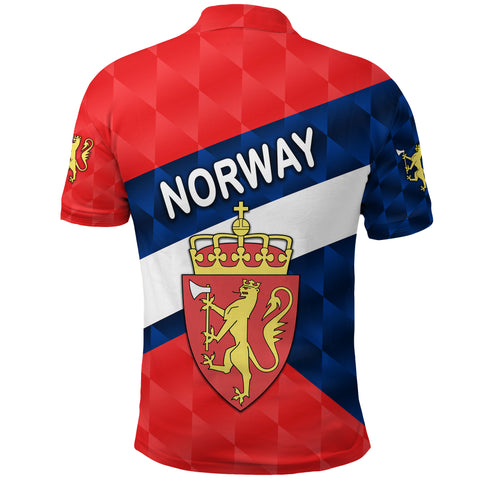 Norway Polo Shirt Sporty Style K8