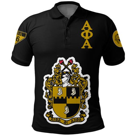 Alpha Phi Alphla Establish 1906 Polo Shirt A27