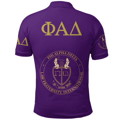 Image of Phi Alpha Delta Polo Shirt A27