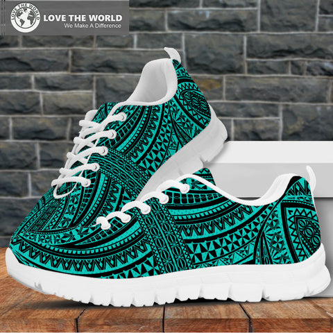 Polynesian Sneakers Blue