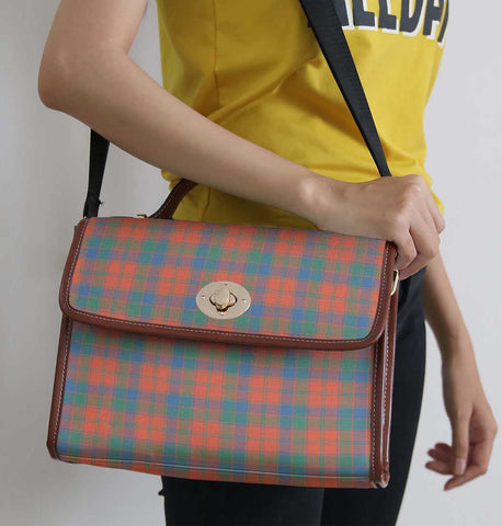 Tartan Bag - Robertson Ancient Canvas Handbag A9