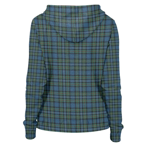 Tartan Zip Hoodie -Robertson Hunting Ancient | Men & Women | Clothing