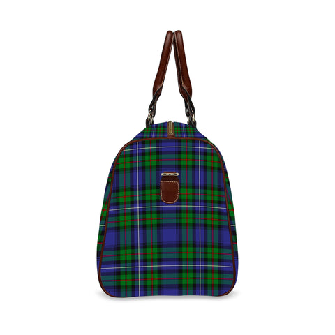 Tartan Canvas Bag - Robertson Hunting Modern | Scottish Travel bag | 1sttheworld